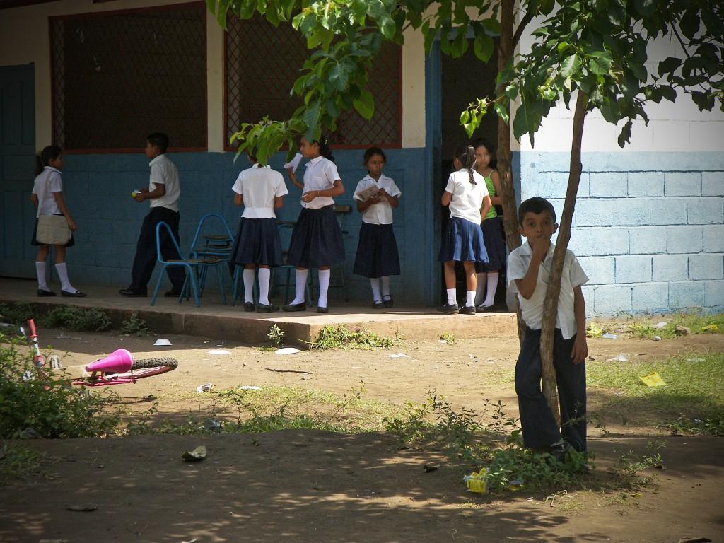 Boy in La Ceiba, Nicaragua